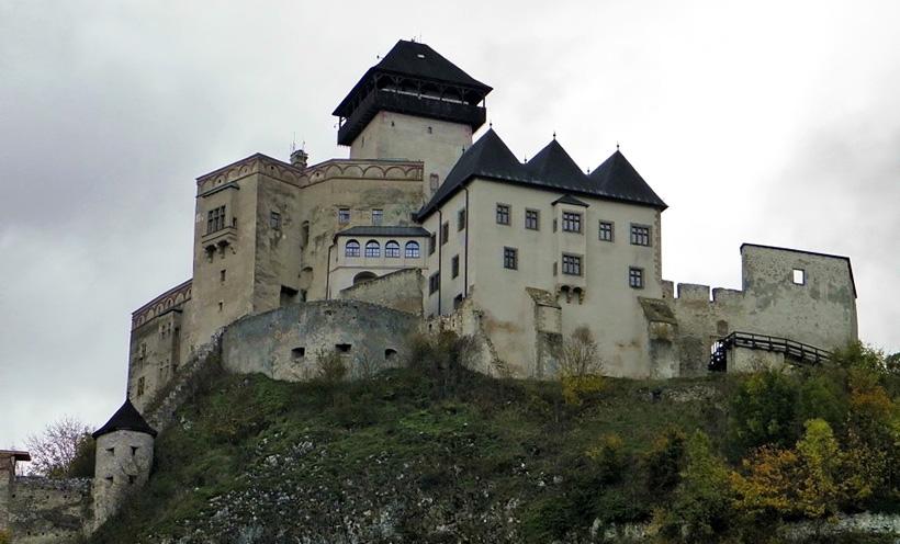 Тренчинский замок.