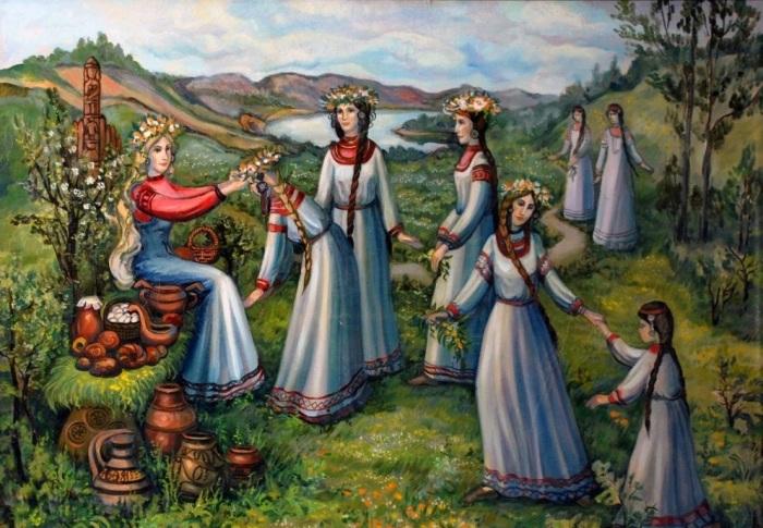 Упоминания о необычайной красоте славян встречались у разных народов. /Фото:4stor.ru
